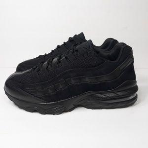 Nike Aif Max 95 Triple Black Sz 6Y